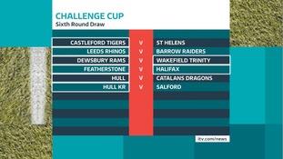 Sixth round draw