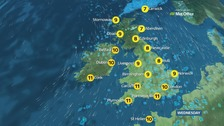 Weather: Sunshine and showers across many parts of UK