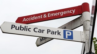 Some healthcare workers pay up to £90 to park outside hospitals.