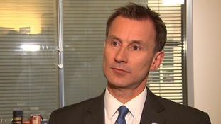 Jeremy Hunt said the future of the NHS depends on the Brexit negotiations.