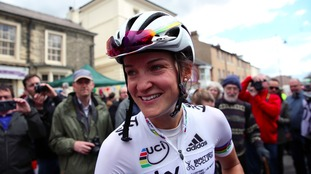 Team Great Britain's Lizzie Armitstead after the Women's Tour de Yorkshire.