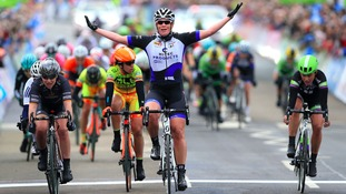 Women's Tour de Yorkshire inspires boom in female cycling