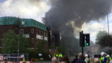 Breaking News: Fire at the Christie hospital in Manchester