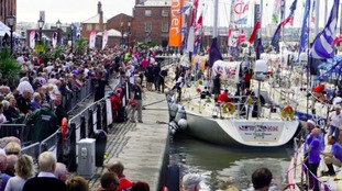 The Clipper Race previously attracted large crowds to the Albert Dock in Liverpool.