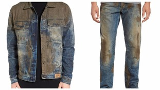 Would you pay £330 for 'muddy' jeans?