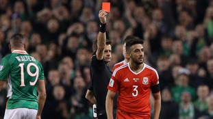 Wales defender Neil Taylor handed two-match ban for tackle on Seamus Coleman