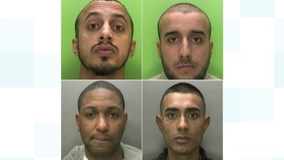Gang jailed for 80 years for armed robbery