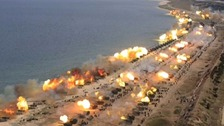 'Largest ever' live-fire exercise in Korean peninsula amid tensions