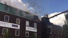 Fire at world-renowned cancer hospital in Manchester
