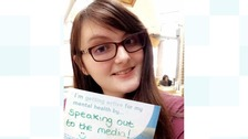 University of Leicester student Katie Sinfield is a mental health advocate