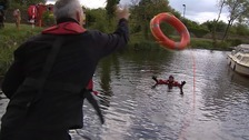 Fire service teaches water safety following number of drownings last year