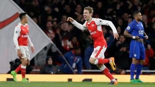 Premier League match report: Arsenal 1-0 Leicester