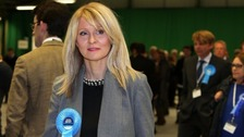 Esther McVey is bidding to return to Parliament two years after losing in Wirral West.