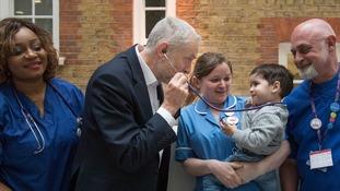 Labour bidding to make crisis-hit NHS a vote winner