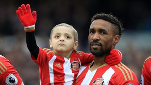 Bradley and Jermaine Defoe are good friends.