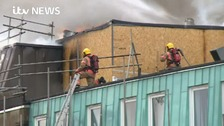 Investigation into fire at Manchester's world famous cancer research hospital