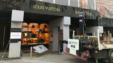 Second ram raid this month at Louis Vuitton in Leeds