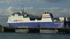 Concerns over food shortages after Condor cancel freight sailing