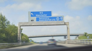 The Manchester United M6? Football teams and firms could soon sponsor motorways