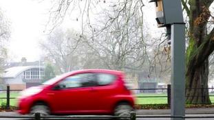 Hundreds of drivers caught in speeding crackdown
