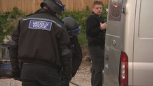 Man arrested after Deeside slavery raids