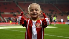 Bradley Lowery in pain as fears cancer 'progressing'