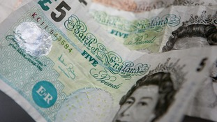 Old paper £5 notes cease to be legal tender next Friday