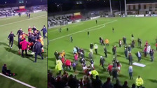 Police investigate disorder after junior football final