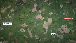 Earthquake hits Cumbria