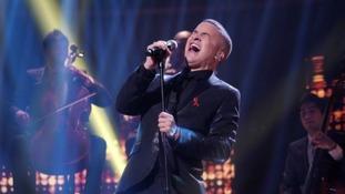 Jahmene Douglas wows The X Factor crowd