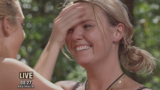 Charlie Brooks smiles after winning I&#x27;m A Celebrity ... Get Me Out Of Here!