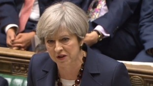 May praises efforts of emergency services after Westminster incident