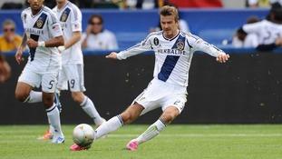 Beckham farewell