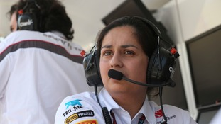 Sauber team principal Monisha Kaltenborn