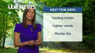 East Midlands Weather: Showers gradually dying away
