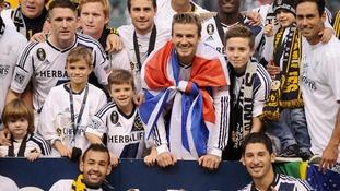David Beckham farewell