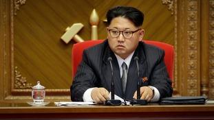 Donald Trump: North Korea risking a 'major, major conflict'
