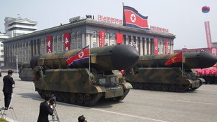 North Korea is trying to develop nuclear weapons.