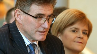 RBS chief executive Ross McEwan, seen with First Minister Nicola Sturgeon, said the lender has 'great potential'.