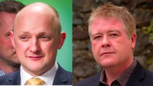 Calum Kerr and Richard Arkless could lose their seats, according to the poll.