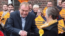 Smell my spaniel: Tim Farron mocked on campaign trail