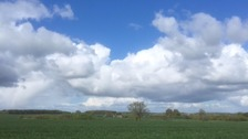 Sunny spells over East Anglia