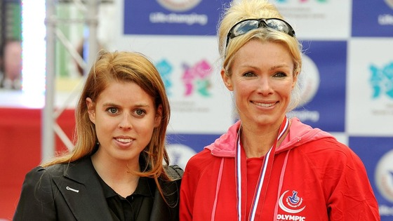 Princess Beatrice & Nell McAndrew