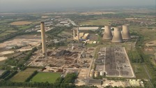 Clearance of Didcot power station wreckage to resume
