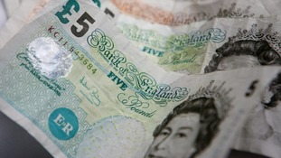 Deadline looms for cashing paper five pound notes in shops