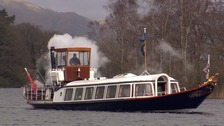 WATCH: The restoration of Coniston's Steam Yacht Gondola