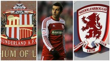 Julio Arca played for both Sunderland and Boro and says he fears for his clubs