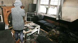 Two escape injury in Larne petrol bomb attack