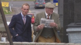 Father and son deny deliberately hunting fox with hounds