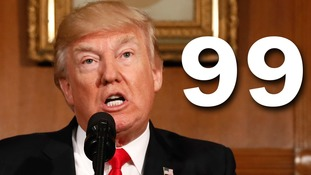 It's Trump's 99th day in office